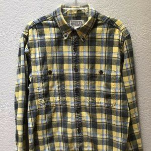 Duluth Trading Co Shirt Flannel Long Sleeve